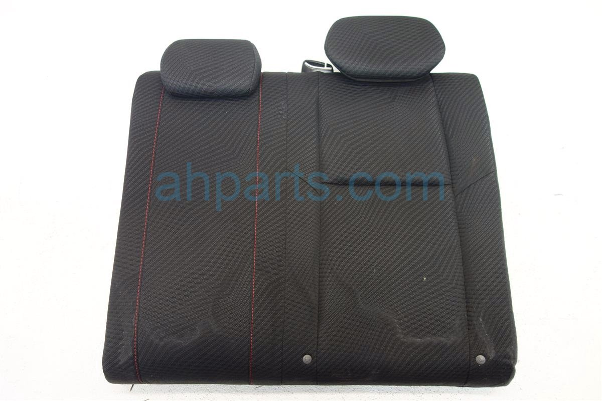 2012 Honda Civic Back 2nd row 2D Rear passenger UPPER SEAT PORTION BLACK Si 82521 TS8 A81ZA 82521TS8A81ZA Replacement