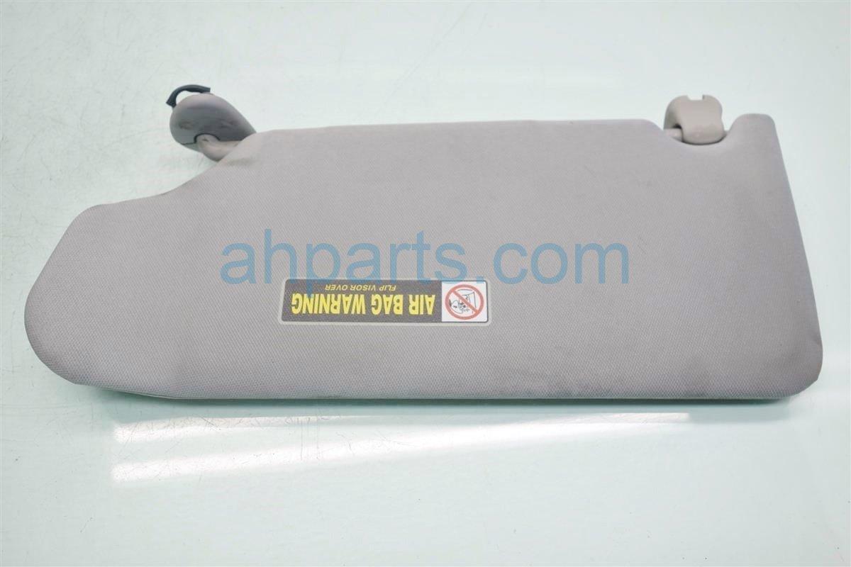 2007 Honda Accord Passenger SUN VISOR SAGGING GRAY Replacement