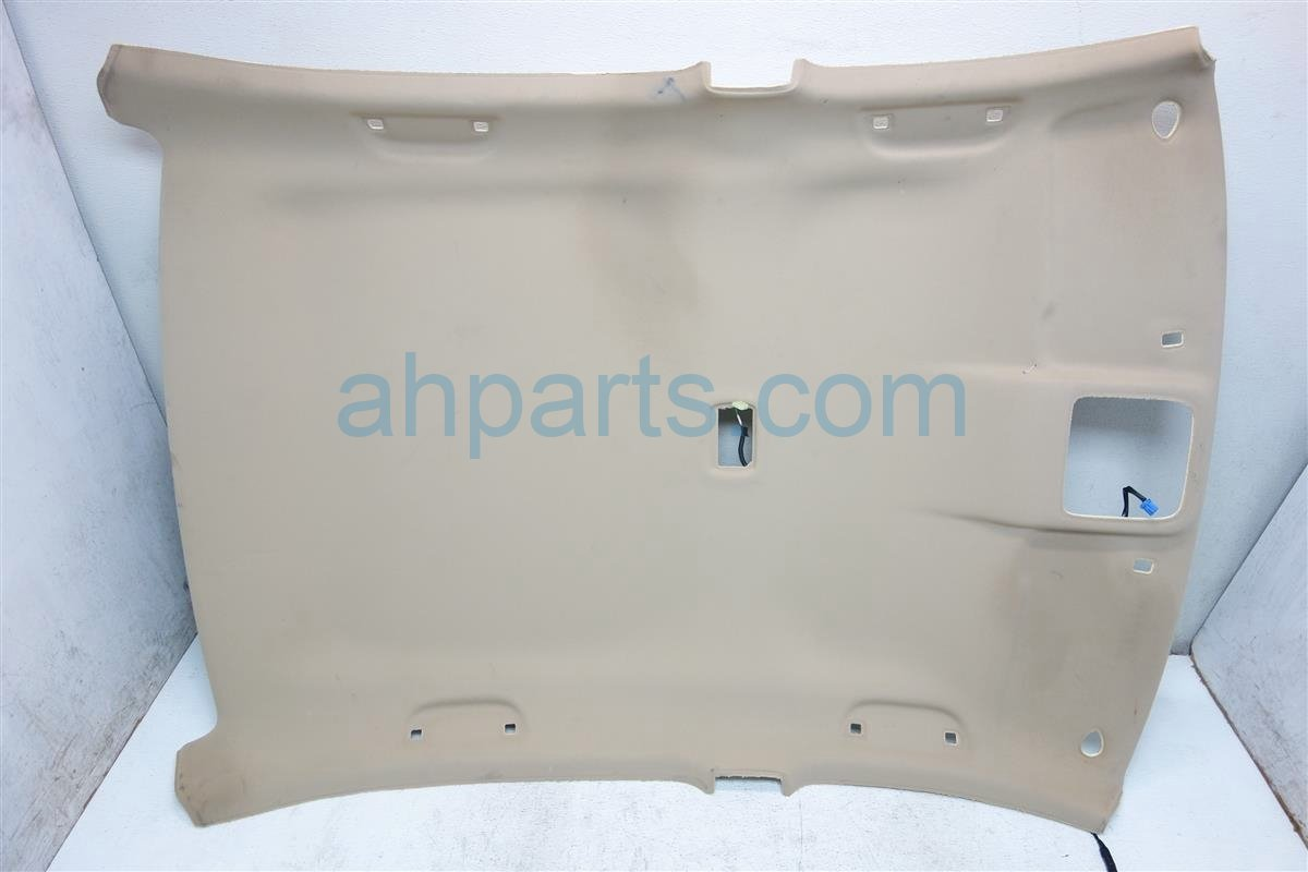 2012 Honda Accord 4DR HEADLINER W O SUNROOF TAN 83200 TA0 A03ZB 83200TA0A03ZB Replacement