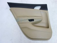 $50 Honda L/RR DOOR PANEL - TAN CLOTH