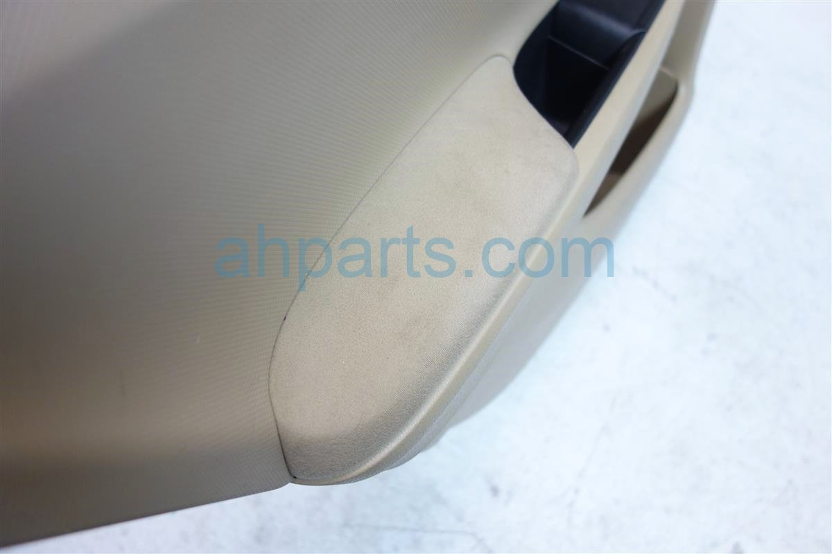 2012 Honda Accord Trim liner Rear driver DOOR PANEL TAN CLOTH 83702 TA5 A04ZC 83702TA5A04ZC Replacement