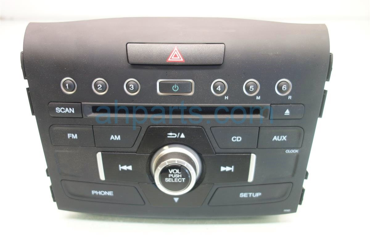 2016 Honda CR V AM FM CD RADIO 39100 T0A A91 39100T0AA91 Replacement