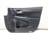 $150 Toyota FR/R DOOR PANEL (TRIM LINER) BLACK