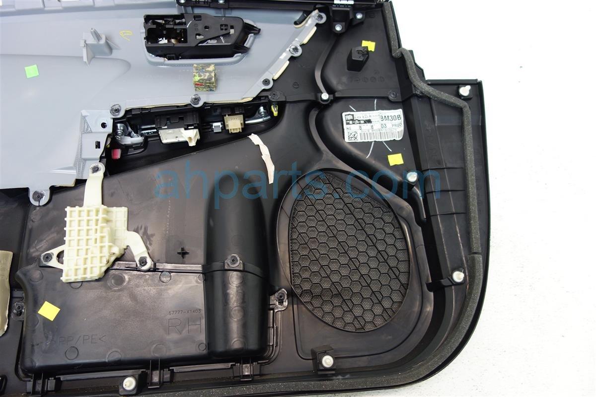 2015 Toyota Camry Front passenger DOOR PANEL TRIM LINER BLACK 67610 06L10 C4 6761006L10C4 Replacement