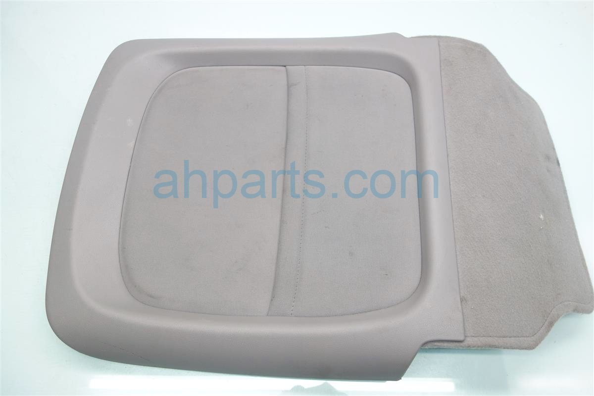 2012 Honda Civic Front passenger SEAT BACK PANEL COVER GRAY Replacement