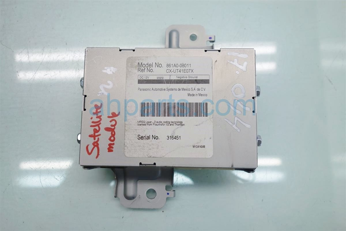 2014 Toyota Sienna SATELLITE MODULE 861A0 08011 861A008011 Replacement