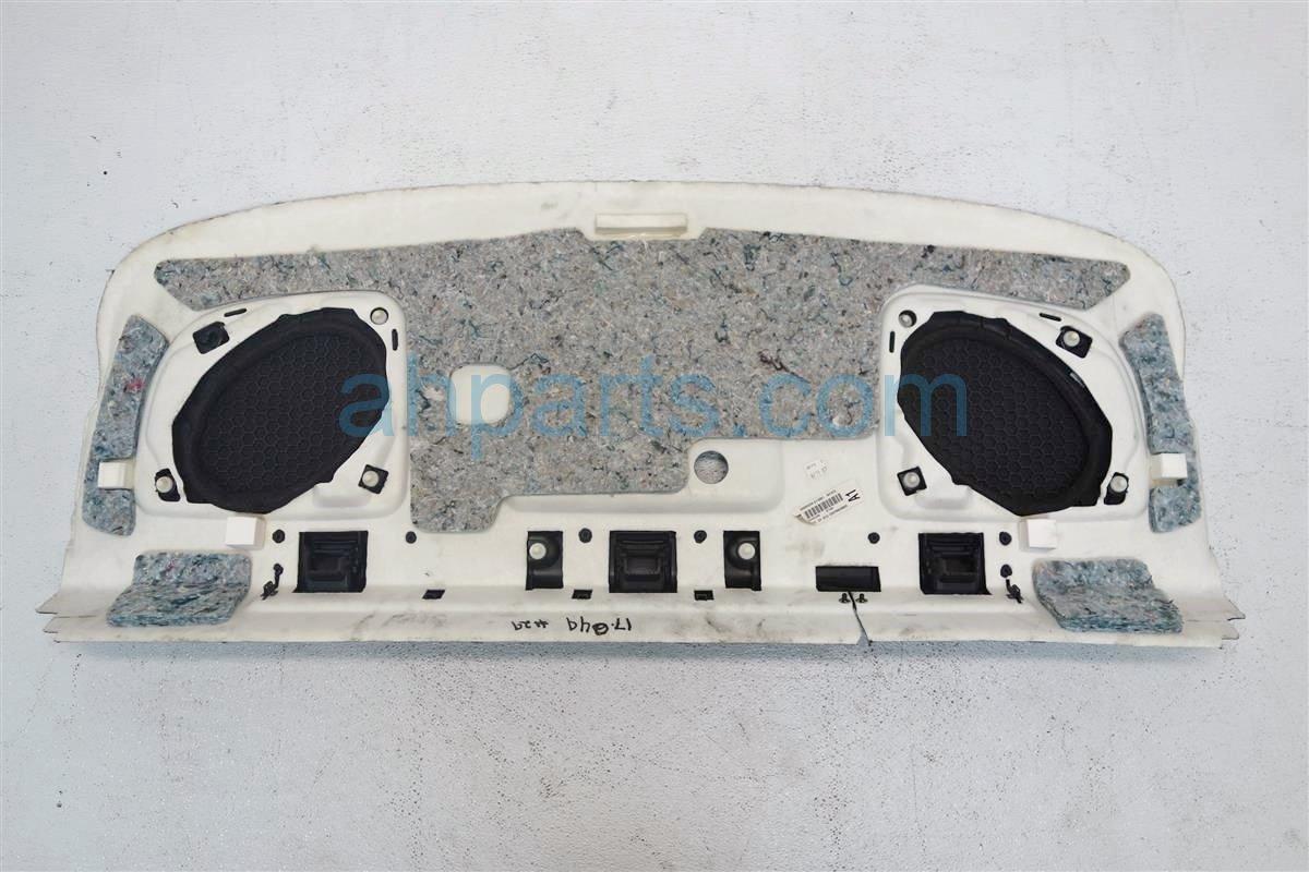 2007 Honda Accord 2DR REAR SPEAKER COVER BLACK 84501 SDN A11ZA 84501SDNA11ZA Replacement