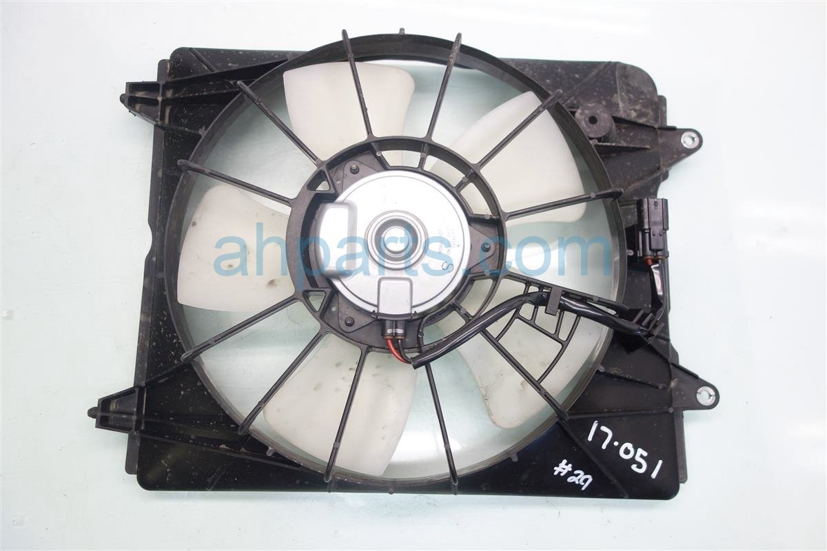 2016 Honda CR V Cooling RADIATOR FAN Replacement