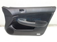 2003 Honda Accord Trim liner Front passenger DOOR PANEL BLACK CLOTH 83500 SDA A52ZA 83500SDAA52ZA Replacement