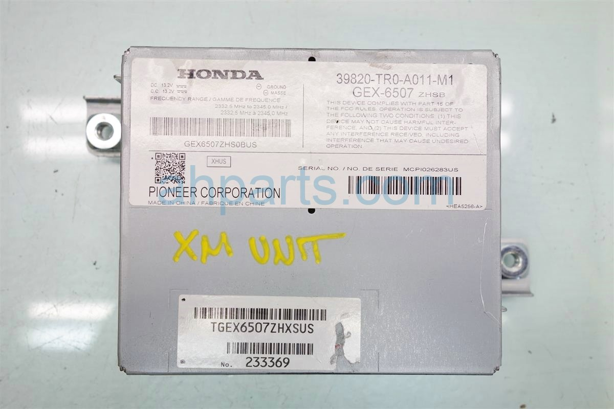 2013 Honda Civic XM UNIT 39820 TR0 A01 39820TR0A01 Replacement