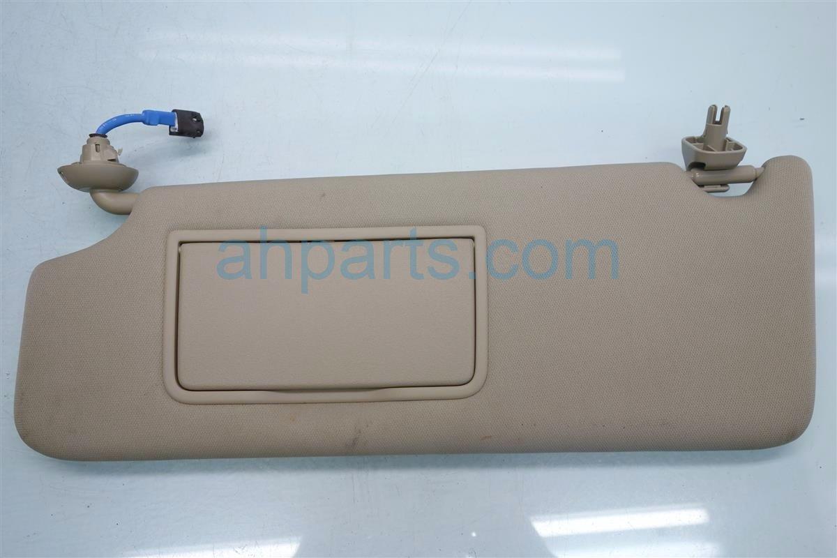 2015 Acura MDX Driver SUN VISOR TAN 83280 TZ5 A01ZA 83280TZ5A01ZA Replacement