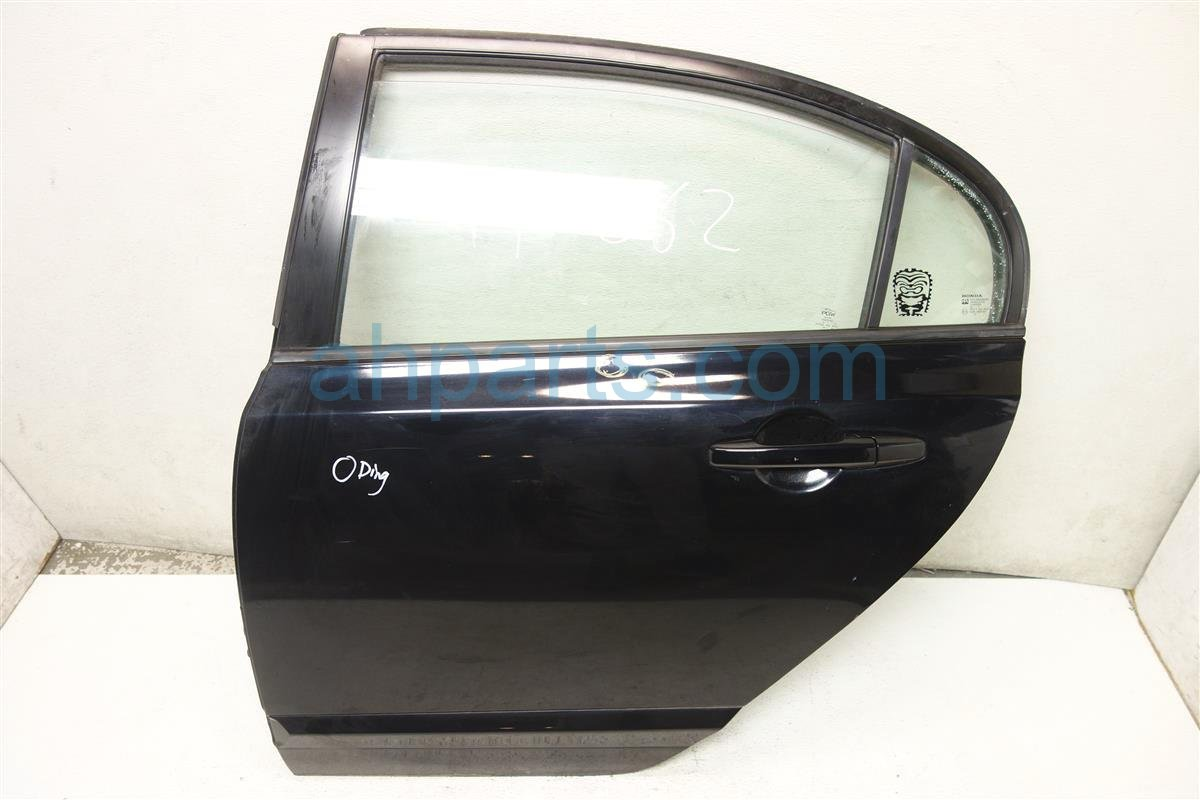 2008 Honda Civic Rear driver DOOR BLACK Replacement