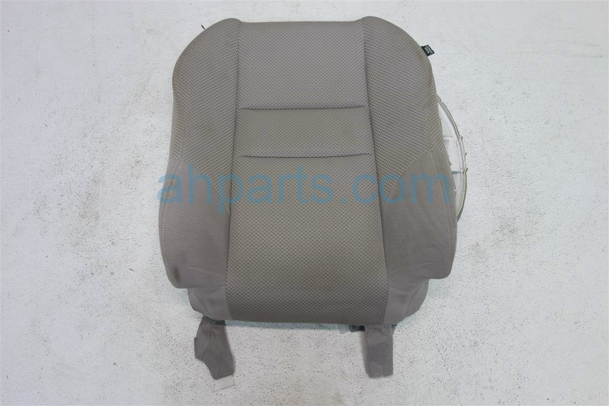 2011 Honda Insight Front driver SEAT UPPER PORTION GRAY Replacement