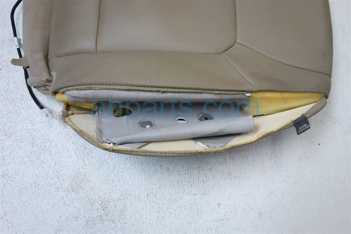 2013 Honda Pilot Front driver SEAT UPPER PORTION TAN LEA 04815 SZA A41ZD 04815SZAA41ZD Replacement