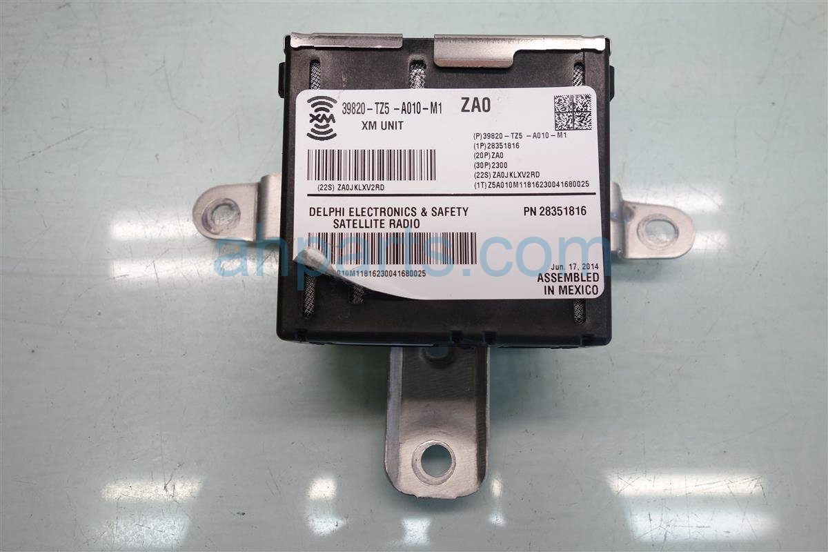 2015 Acura MDX XM UNIT 39820 TZ5 A01 39820TZ5A01 Replacement