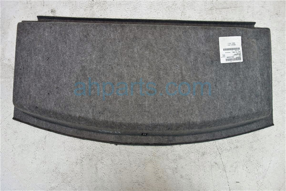2015 Acura MDX REAR CARGO TRAY 83303 TZ5 A00ZB 83303TZ5A00ZB Replacement