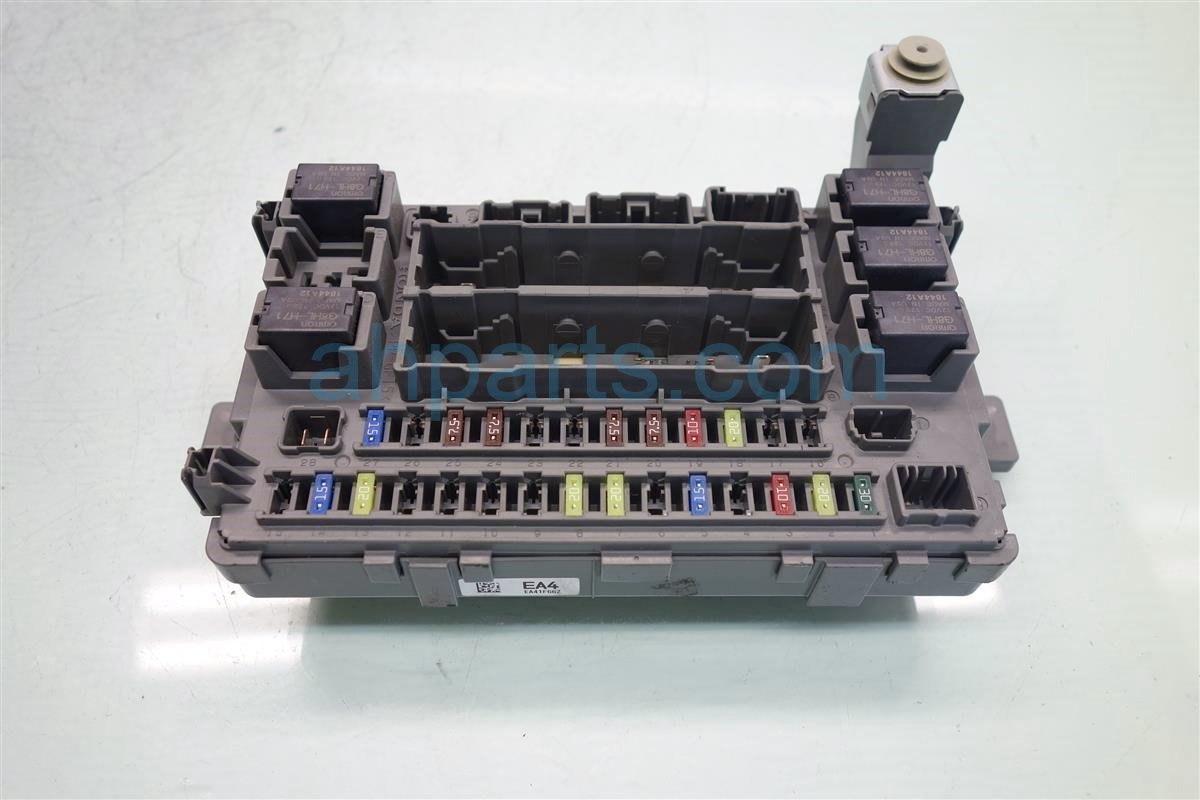 2012 Honda Odyssey Fuse Diagram Wiring Library Van Box 2011 Driver Of U2022 2004 Element
