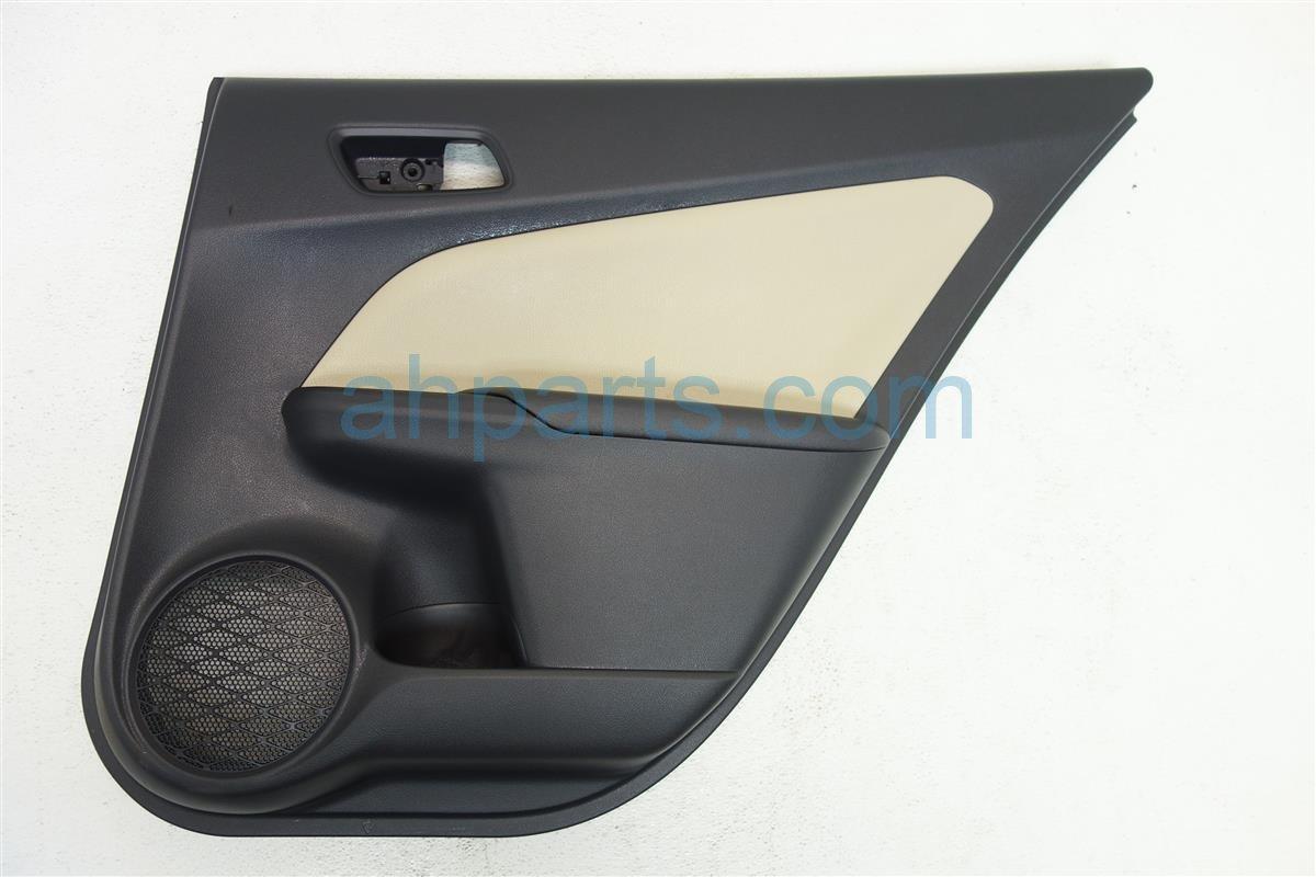 2016 Toyota Prius Trim liner Rear passenger DOOR PANEL DARK GRAY TAN 67630 47500 B0 6763047500B0 Replacement