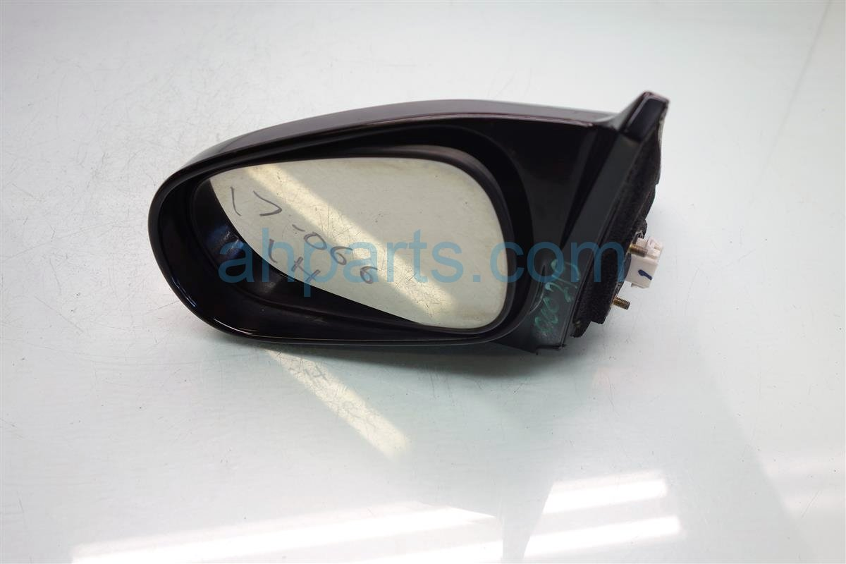 1997 Honda Civic Side Rear View 2DR DRIVER DOOR MIRROR BLACK 76250 S02 A25ZB HAS 76250S02A25ZBHAS Replacement