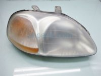 1997 Honda Civic Passenger HEADLIGHT LAMP NEEDS CLEANING 33101 S01 305 33101S01305 Replacement