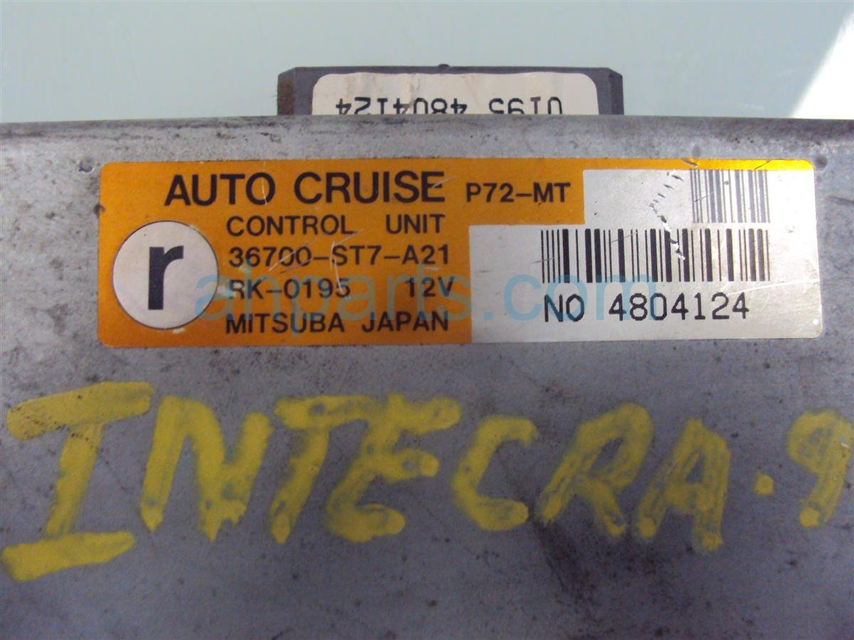 1995 Acura Integra CRUISE CONTROL GS R 4DR 36700 ST7 A21 36700ST7A21 Replacement