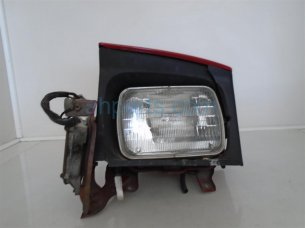 Driver Headlight Assembly - Red