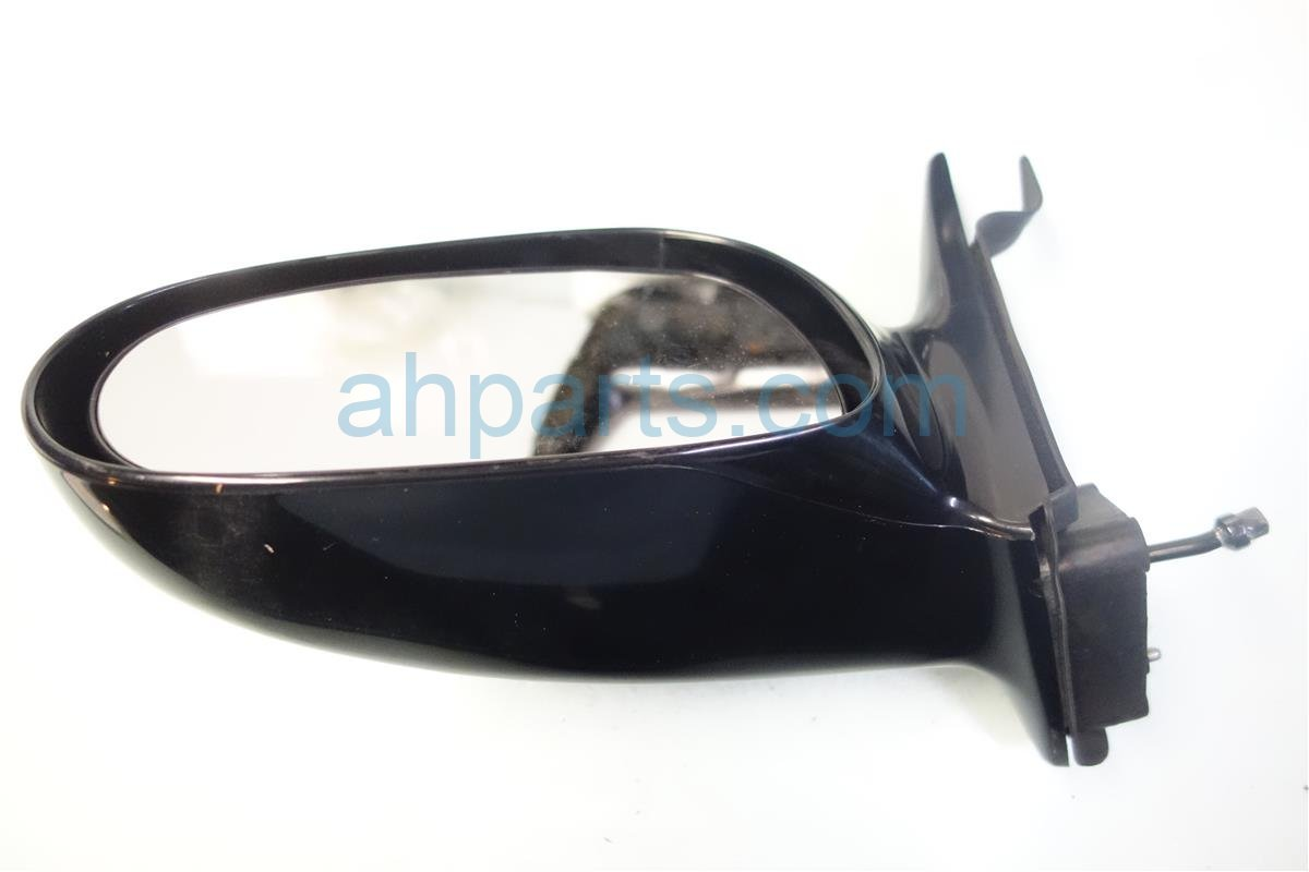 1993 Mazda 626 Side Rear View L H MIRROR MANUAL BLK Replacement