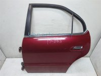 2001 Acura TL Rear driver DOOR RED 67550 S0K A90ZZ 67550S0KA90ZZ Replacement