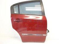 2010 Nissan Sentra Door Rear passenger Red Replacement