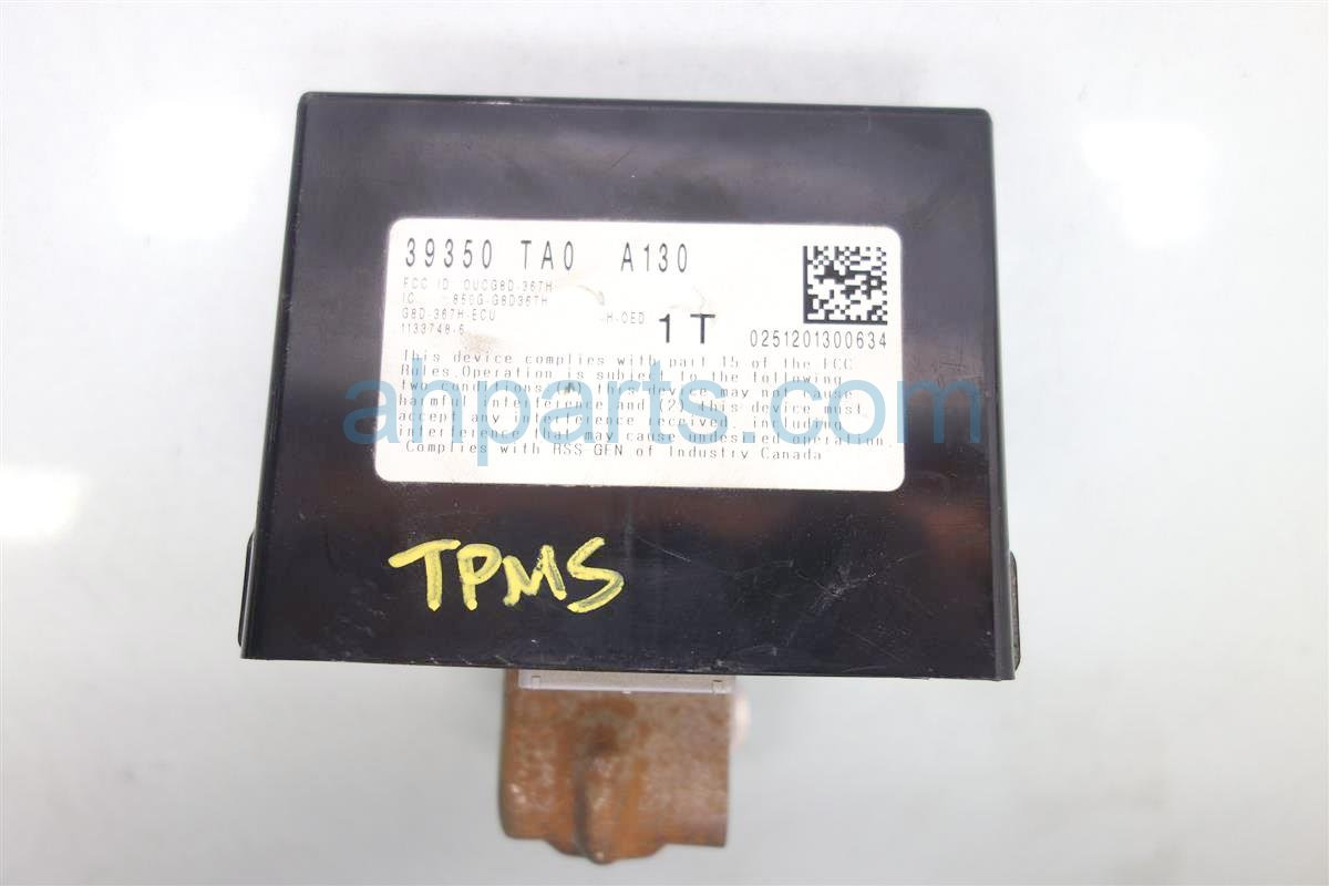 2012 Honda Accord Tmps Unit 39350 TA0 A13 Replacement