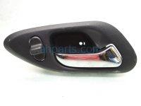 $15 Honda FR/RH INTERIOR DOOR HANDLE - BLACK
