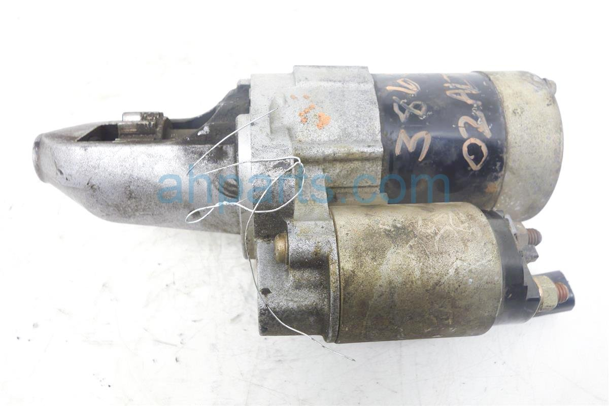 buy 40 2002 nissan altima starter motor 1n4al11d52c220745. Black Bedroom Furniture Sets. Home Design Ideas
