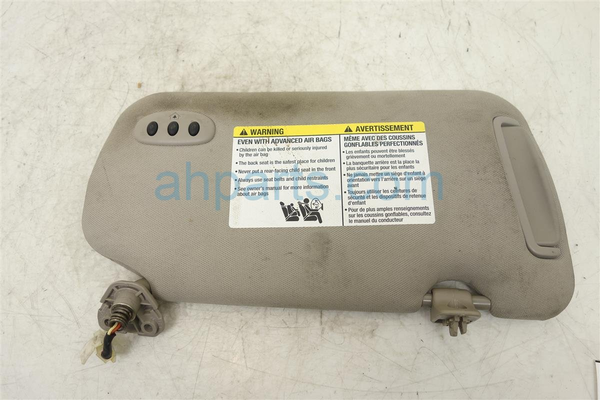 ... 2005 Nissan Altima Driver Driver Side Sun Visor 96401 ZB762 Replacement  ... 7a2f2a1fcc4
