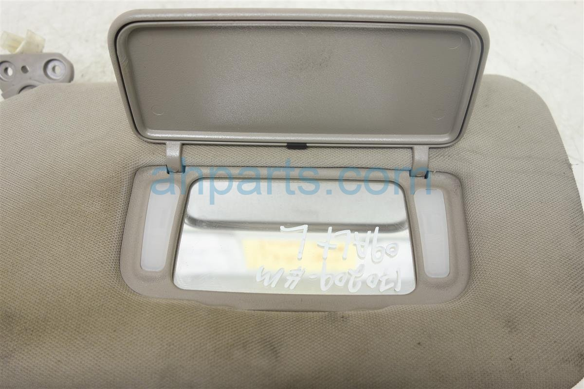 Buy 30 2005 Nissan Altima Driver Driver Side Sun Visor 96401 Zb762 96401zb762 200212 3 Replacement