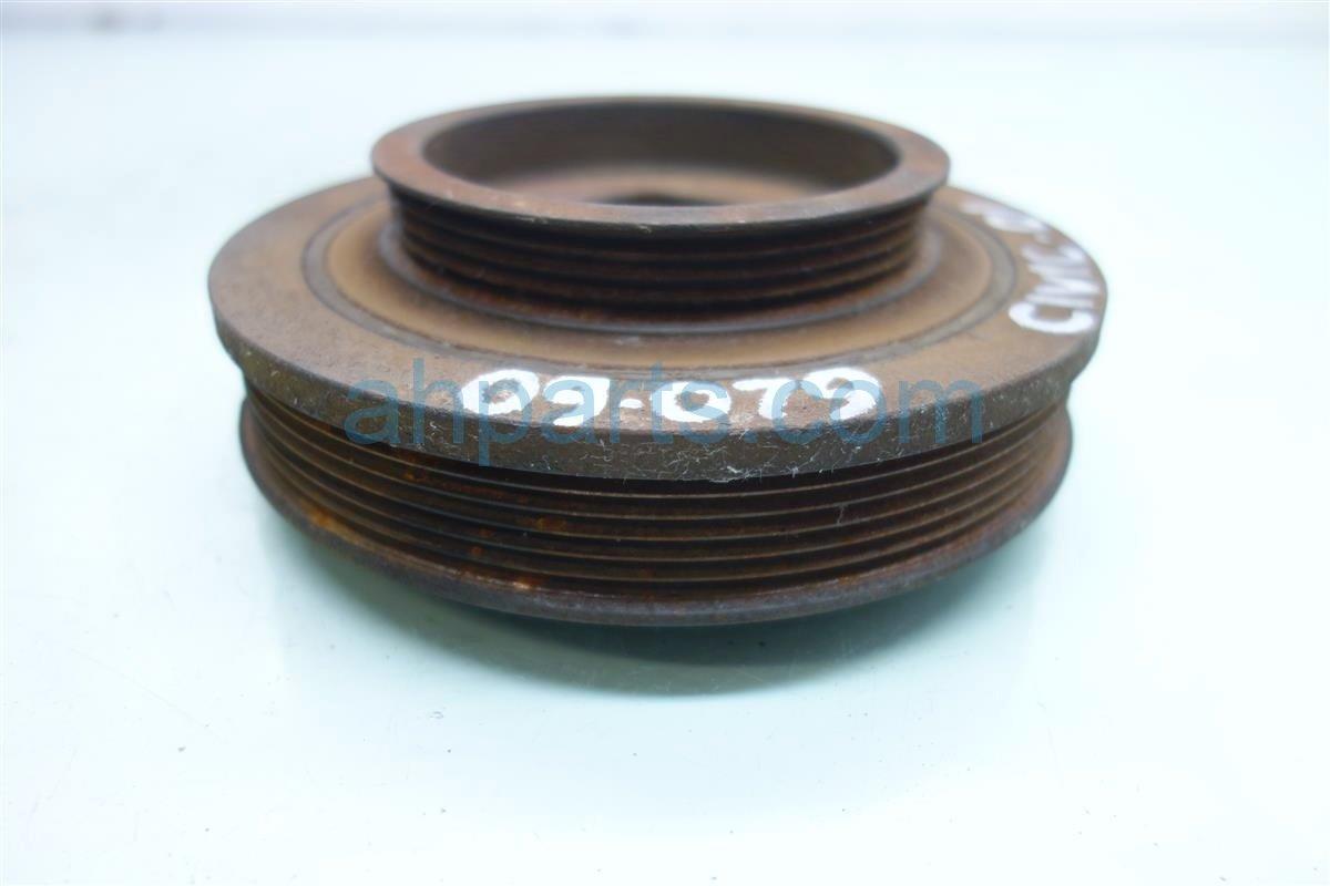 2001 Honda Civic Shaft HARMONIC BALANCER CRANK PULLEY 13810 PLM A01 13810PLMA01 Replacement