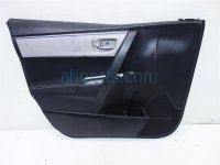 $100 Toyota FR/LH DOOR PANEL BLACK/GRAY