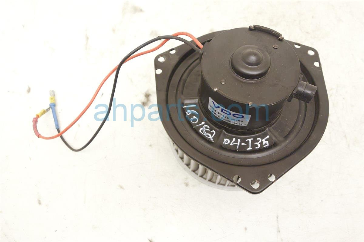 Air Force Blower Motors : Infiniti i air ac heater blower motor vdopm
