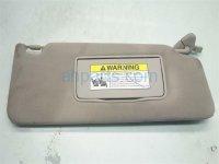 2007 Acura MDX Passenger Sun Visor, Gray 83230 STX A01 Replacement