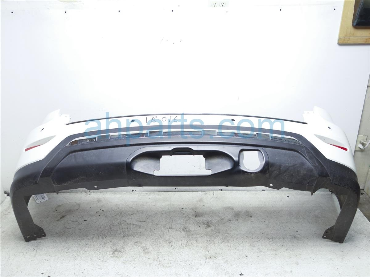 2014 Nissan Pathfinder Rear Bumper Cover Only White Replacement