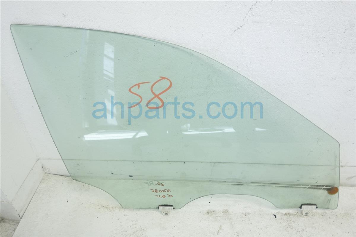 2006 Infiniti G35 Front Passenger Door Window Glass 80300 Al512