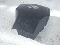 $165 Infiniti BLACK STEERING WHEEL AIRBAG