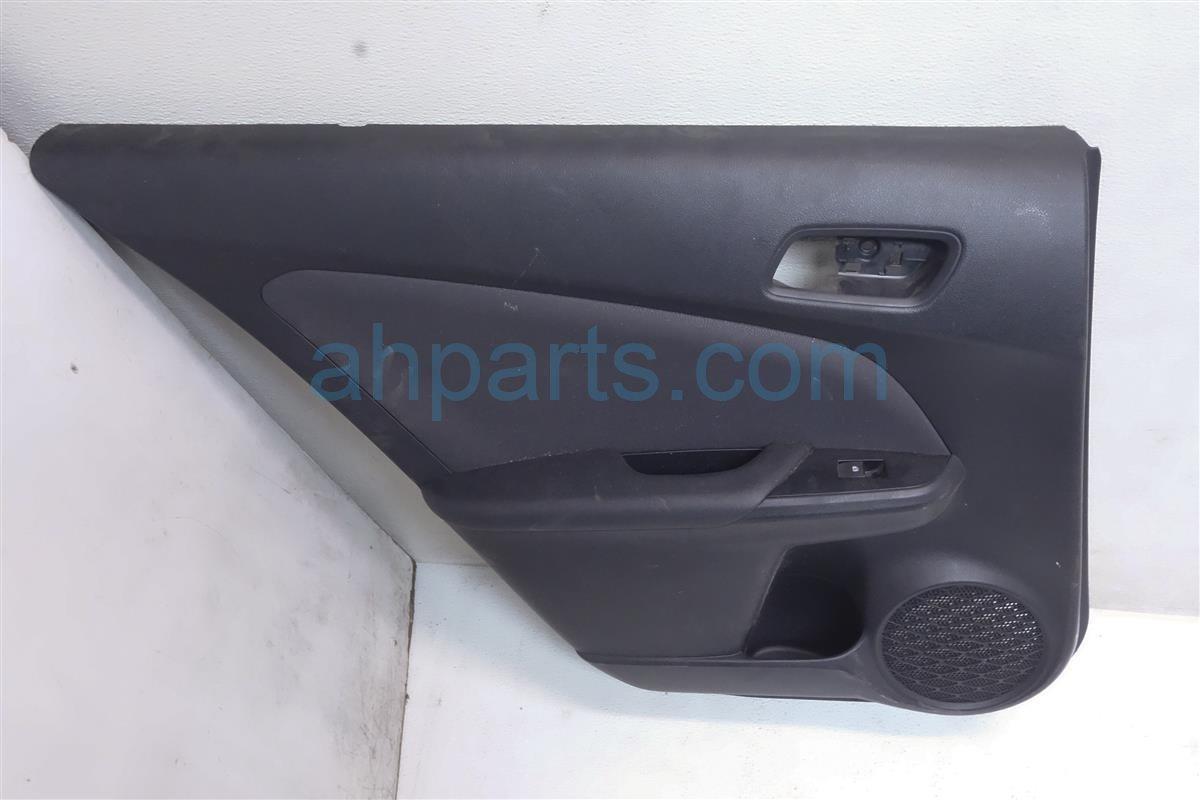 2016 Toyota Prius Rear Driver Door Panel Trim Liner