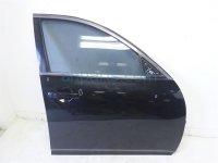 $350 Infiniti FR/RH DOOR ASSEMBLY, BLACK, SEDAN