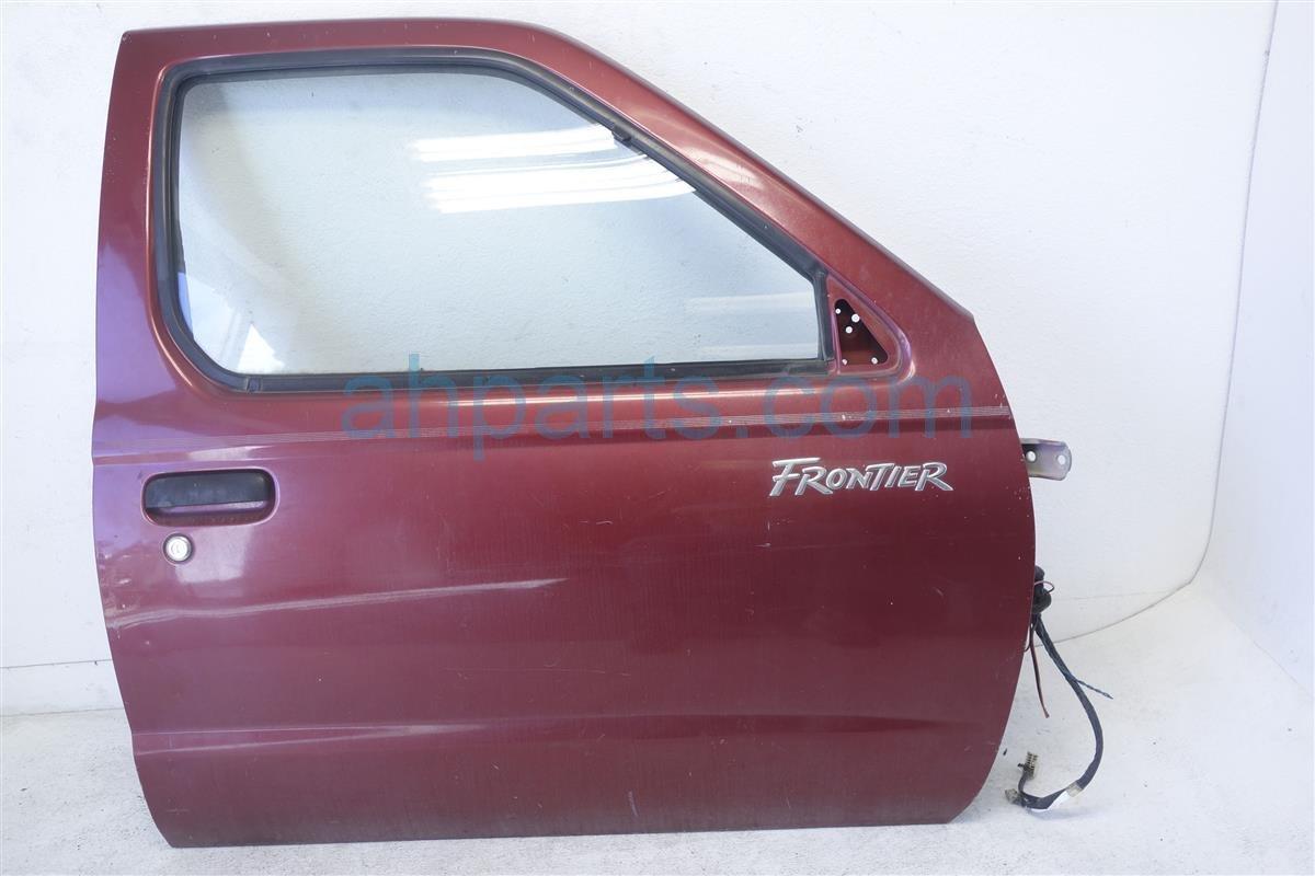 2000 Nissan Frontier Front passenger DOOR BURGUNDY H0100 3S530 H01003S530 Replacement
