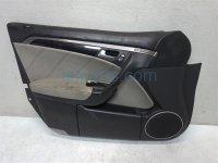 $125 Acura FR/L DOOR PANEL - BLACK/GRAY TYPE S