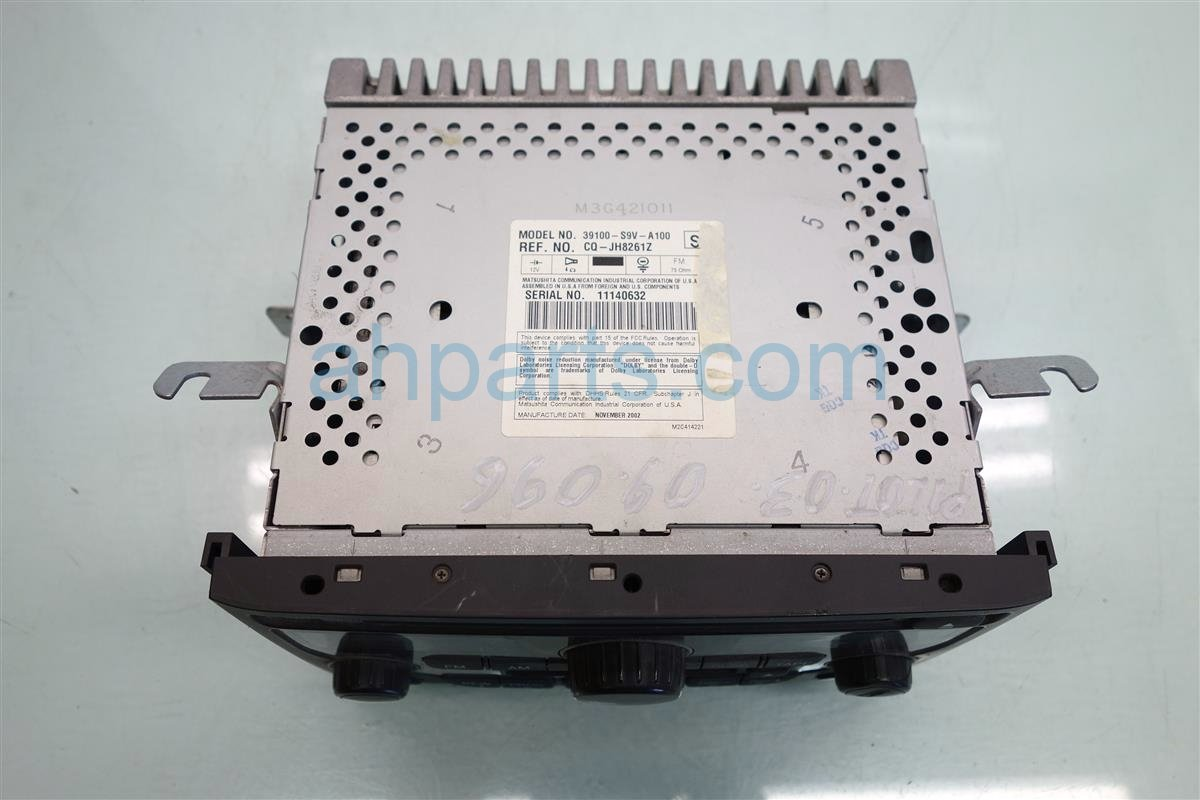 2003 Honda Pilot AM FM CD PLAYER CPV Replacement