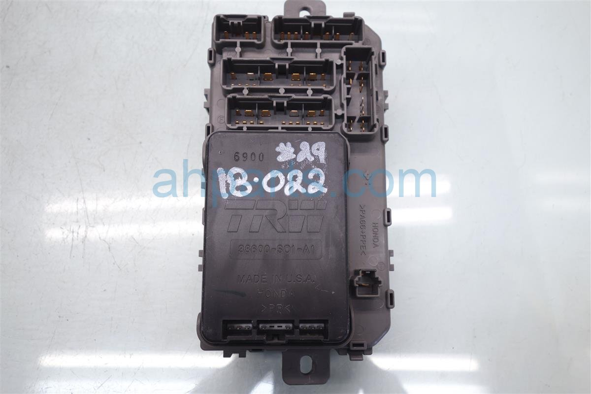 2008 Honda Civic Cabin Fuse Box Electrical Wiring Diagrams Si 1999 Assy 38200 S04 A01 1993 Prelude