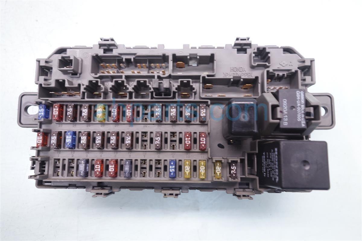 1999 honda civic cabin fuse box 38200 s04 a01 replacement