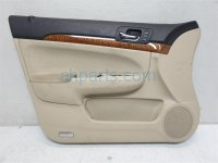 $78 Acura FR/LH DOOR PANEL TRIM LINING TAN