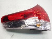 2013 Toyota Sienna Rear Driver TAIL LAMP LIGHT ON BODY 81590 08011 8159008011 Replacement
